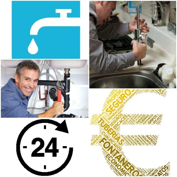 fontaneros A Coruña servicios económicos de fontanería las 24 horas